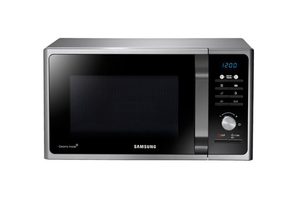 FORNO MICROONDE SAMSUNG MG23F301TCS GRILL 23 L 6 LIVELLI DI POTENZA REFURBISHED DISPLAY LED