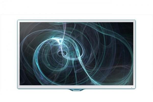 "TV - MONITOR 24"" SAMSUNG LT24D391EI LED FULL HD USB HDMI BIANCO REFURBISHED SENZA BASE CON STAFFA A MURO"