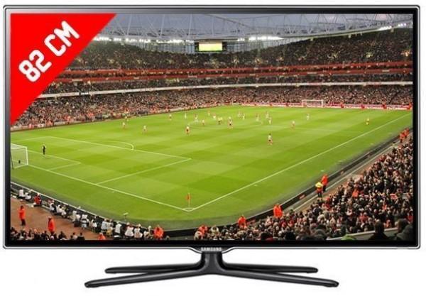 "TV 32"" SAMSUNG UE32ES6700 / UE32ES6500 LED FULL HD SMART WIFI 400 HZ 3D USB HDMI REFURBISHED SCART"