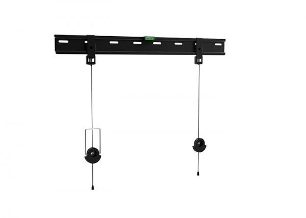 SUPPORTO A MURO FISSO TECNO TC-ST04 UNIVERSALE PER TV LCD / LED / PLASMA 32-65'' FACILE INSTALLAZIONE