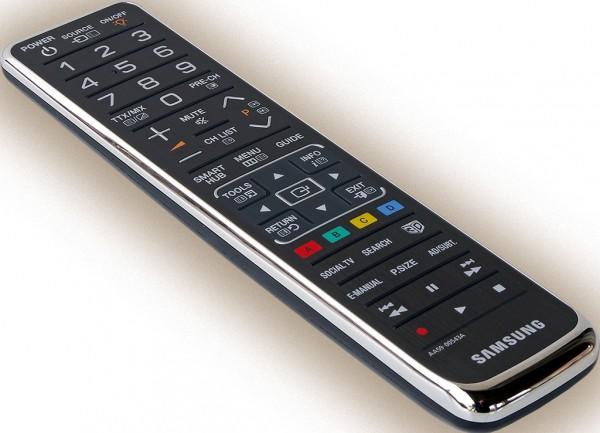 TELECOMANDO UNIVERSALE ORIGINALE SAMSUNG TM1170 AA59-00543A BLACK / SILVER PER TV UE46D7000 / UE40D7000