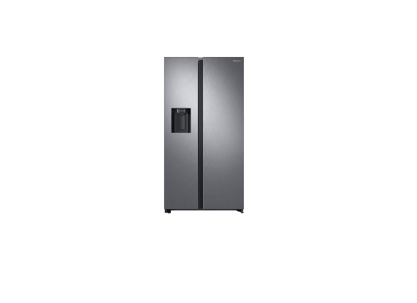 FRIGORIFERO SAMSUNG SIDE BY SIDE RS6GN8231S9 / RS68N8242SL RS8000 INOX 617 L TOTAL NO FROST DIGITAL INVERTER DISPENSER ACQUA E GHIACCIO REFURBISHED CLASSE A++