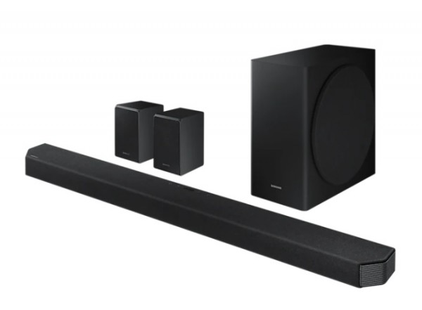SOUNDBAR SAMSUNG HW Q950T 9.1.4 CANALI 546 W 20 ALTOPARLANTI WIRELESS BLUETOOTH HDMI WIFI 4K VIDEO PASS HDR REFURBISHED NERO