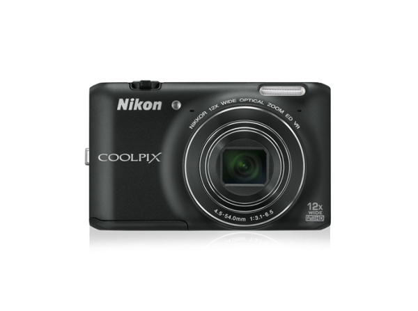 "FOTOCAMERA NIKON COOLPIX S6400 COMPATTA 16 MP ZOOM 12X DISPLAY LCD TOUCHSCREEN 3"" REFURBISHED NERA"