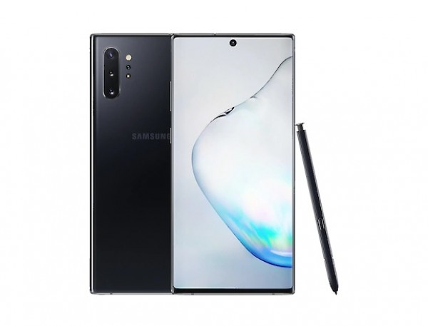 "SMARTPHONE SAMSUNG GALAXY NOTE 10 PLUS SM N975F DUAL SIM 6.8"" DYNAMIC AMOLED 512 GB OCTA CORE 4G LTE WIFI ANDROID REFURBISHED AURA BLACK"