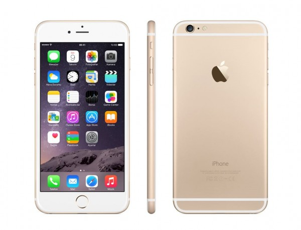 IPHONE 6 PLUS APPLE 128 Gb 4G LTE CHIP A8 TOUCH ID IOS 8 8 Mpx FOCUS PIXEL REFURBISHED GRADO A++ GOLD