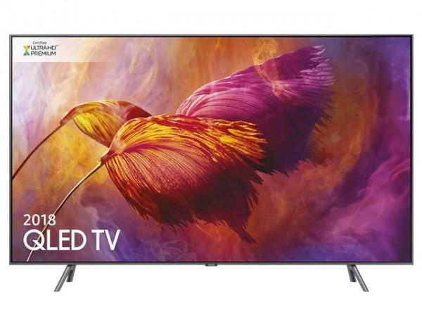 TV 55'' SAMSUNG QE55Q8DNAT QLED SERIE 8 Q8D 2018 4K ULTRA HD SMART WIFI 3600 PQI HDMI USB SILVER / INOX
