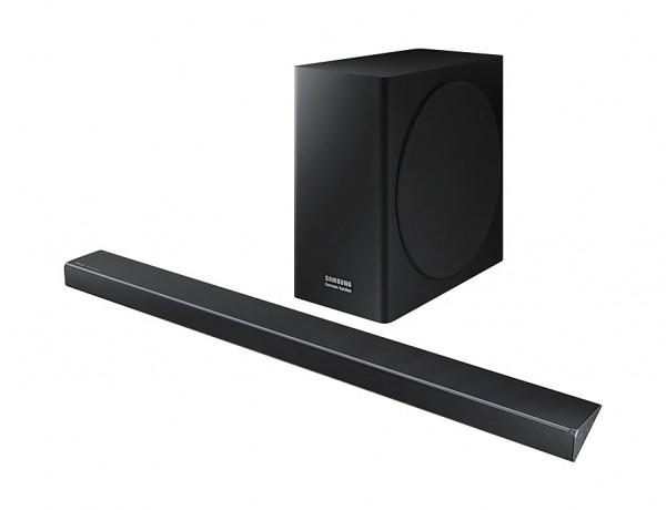 SOUNDBAR SAMSUNG HARMAN / KARDON HW Q70R 3.1.2 CANALI WIRELESS 330 W 7 ALTOPARLANTI 4K VIDEO PASS HDR WIFI BLUETOOTH HDMI REFURBISHED MINERAL ASH BLACK