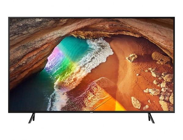 """TV 65"""" SAMSUNG QE65Q60RAT QLED Q60R 2019 4K ULTRA HD SMART WIFI 2400 PQI USB HDMI REFURBISHED CHARCOAL BLACK"""