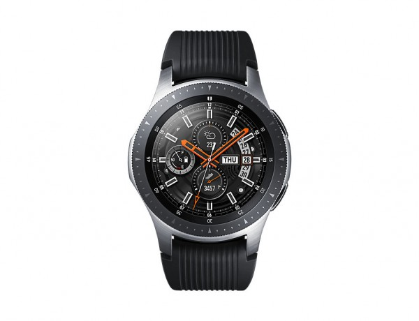 "SMARTWATCH SAMSUNG GALAXY WATCH 46 MM SM R805 1.3"" SUPER AMOLED 4 GB DUAL CORE 4G LTE NFC BLUETOOTH REFURBISHED ARGENTO"