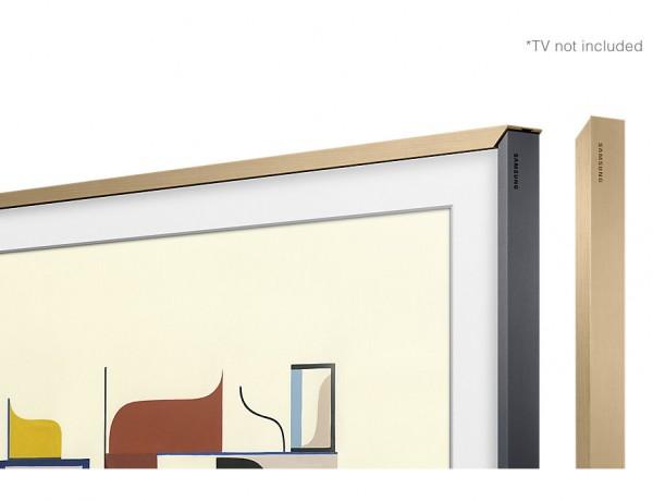 """CORNICE THE FRAME 65"""" SAMSUNG VG SCFM65WM PERSONALIZZABILE LEGNO BEIGE PER TV LS003 24 MESI GARANZIA UFFICIALE SAMSUNG ITALIA"""