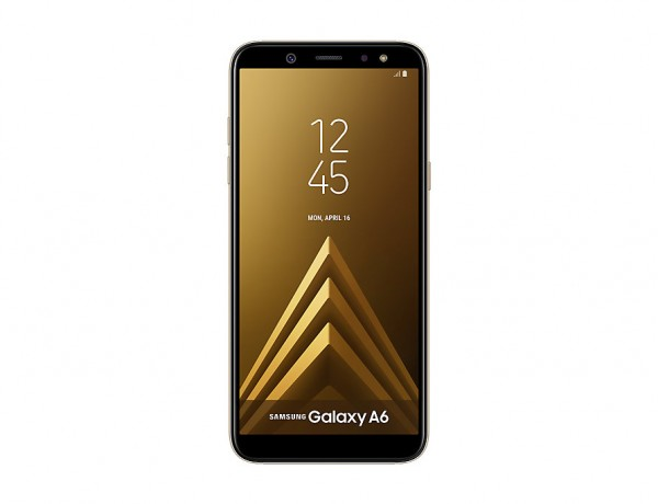 "SMARTPHONE SAMSUNG GALAXY A6 SM A600F 32 GB OCTA CORE 5.6"" SUPER AMOLED 16 MP 4G LTE WIFI BLUETOOTH ANDROID REFURBISHED GOLD"
