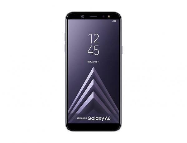 "SMARTPHONE SAMSUNG GALAXY A6 SM A600F DUAL SIM 32 GB OCTA CORE 5.6"" SUPER AMOLED 16 MP 4G LTE WIFI BLUETOOTH ANDROID REFURBISHED LAVENDER"