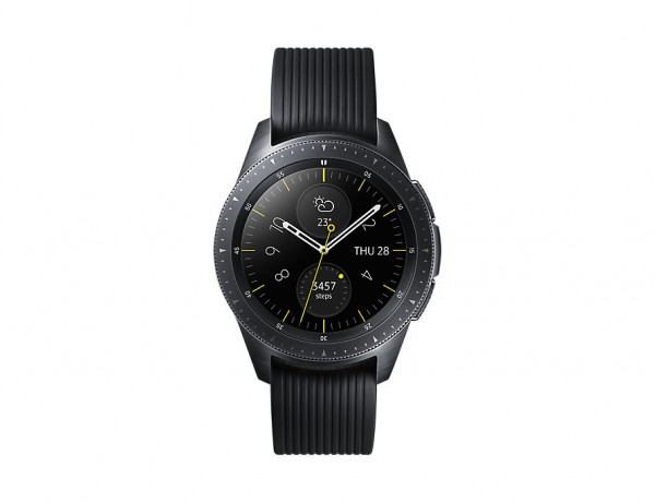 "SMARTWATCH SAMSUNG GALAXY WATCH 42 MM SM R810 1.2"" SUPER AMOLED 4 GB DUAL CORE WIFI NFC BLUETOOTH REFURBISHED NERO"