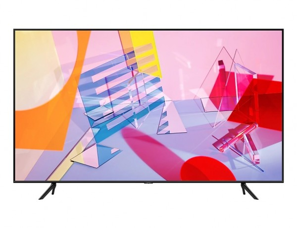 """TV 50"""" SAMSUNG QE50Q60TAU QLED Q60T 2020 4K UHD SMART WIFI 3100 PQI USB REFURBISHED HDMI"""