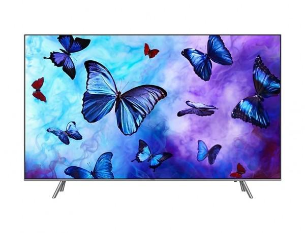 """TV 55"""" SAMSUNG QE55Q6FNAT QLED SERIE 6 Q6FN 2018 4K UHD SMART WIFI 2800 PQI USB HDMI SILVER / INOX"""
