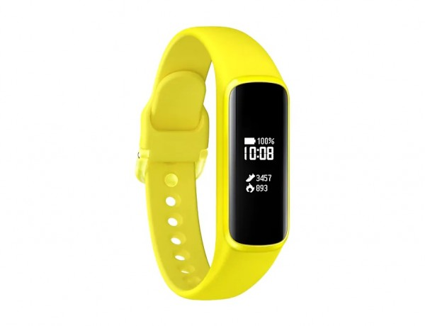 "SAMSUNG GEAR FIT e SM R375 0.74"" PMOLED BLUETOOTH REFURBISHED GIALLO"
