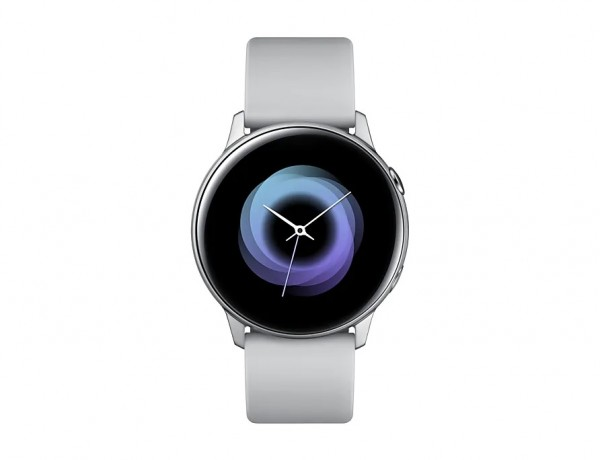 "SMARTWATCH SAMSUNG GALAXY WATCH ACTIVE SM R500 1.1"" SUPER AMOLED 4 GB DUAL CORE WIFI BLUETOOTH NFC REFURBISHED SILVER"