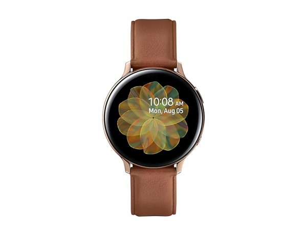 """SMARTWATCH SAMSUNG GALAXY WATCH ACTIVE2 44 MM STAINLESS STEEL SM R820 1.4"""" SUPER AMOLED 4 GB DUAL CORE WIFI BLUETOOTH REFURBISHED GOLD"""