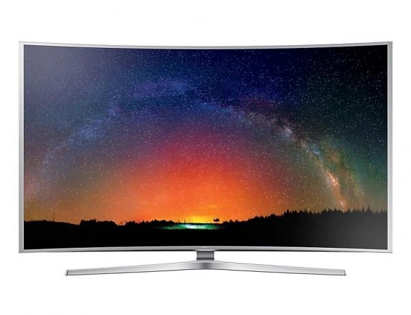 """TV 55"""" SAMSUNG UE55JS9000 LED SERIE 9 CURVO SUHD 4K SMART WIFI 3D 2000 PQI DOLBY DIGITAL PLUS USB HDMI SILVER / INOX"""
