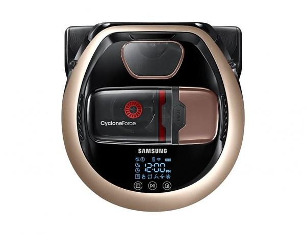 ROBOT ASPIRAPOLVERE SAMSUNG POWERBOT VR2DM7060WD / VR20M706TWD VR7000 130 W CYCLONE FORCE WIFI DISPLAY LED REFURBISHED GOLD