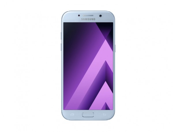 "SMARTPHONE SAMSUNG GALAXY A5 (2017) SM A520F 32 GB OCTA CORE 5.2"" SUPER AMOLED 16 MP 4G LTE WIFI BLUETOOTH ANDROID REFURBISHED BLUE MIST"