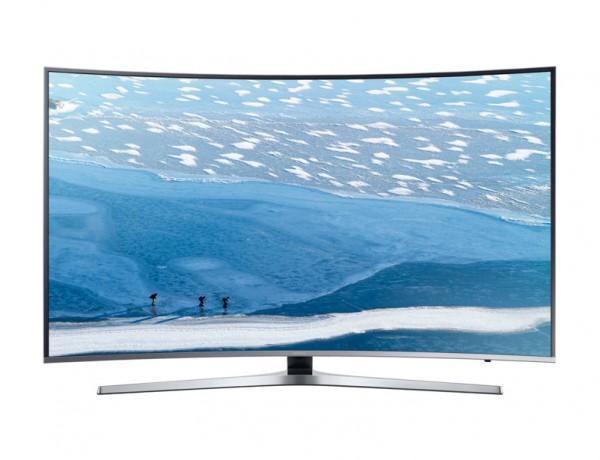 """TV 78"""" SAMSUNG UE78KU6500 LED SERIE 6 CURVO 4K ULTRA HD SMART WIFI 1600 PQI HDMI USB REFURBISHED SILVER / INOX"""