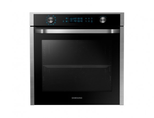 FORNO SAMSUNG AD INCASSO NV75J7570RS MULTIFUNZIONE 60 CM 75 L DUAL COOK DISPLAY LED INOX REFURBISHED CLASSE A