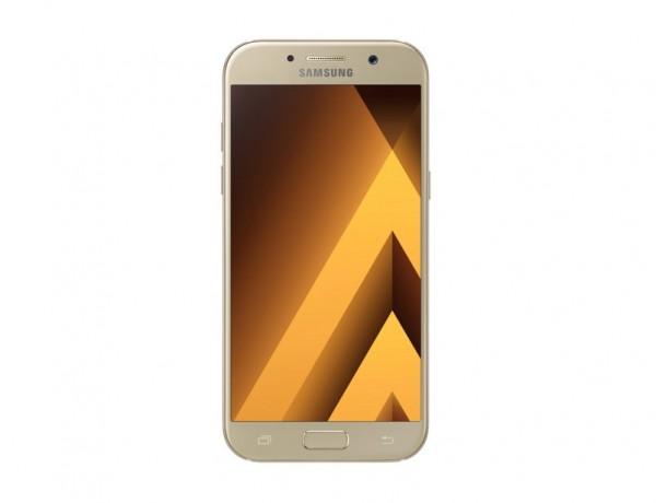 "SMARTPHONE SAMSUNG GALAXY A5 (2017) SM A520F 32 GB OCTA CORE 5.2"" SUPER AMOLED 16 MP 4G LTE WIFI BLUETOOTH ANDROID REFURBISHED GOLD SAND"