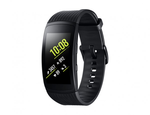 "SAMSUNG GEAR FIT2 PRO SM R365 (TAGLIA S) 1.5"" SUPER AMOLED CURVO 4 GB WIFI BLUETOOTH REFURBISHED NERO"