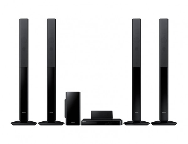SISTEMA HOME THEATRE SAMSUNG HT H5550 5.1 1.000 W DVD BLU RAY 3D DOLBY DIGITAL WIFI BLUETOOTH REFURBISHED REGISTRAZIONE USB