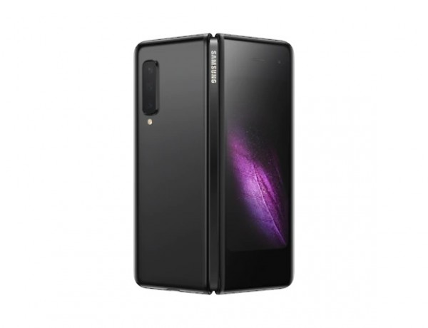 "SMARTPHONE SAMSUNG GALAXY FOLD 5G SM F907B 512 GB 7.3"" + 4.6"" SUPER AMOLED WIFI OCTA CORE SEI FOTOCAMERE PROFESSIONALI REFURBISHED COSMOS BLACK / NERO"