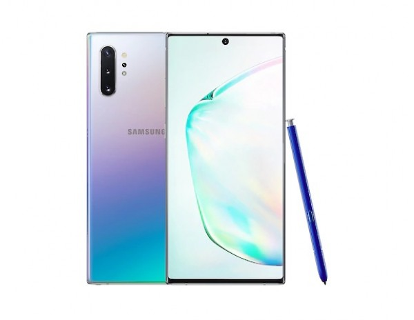 "SMARTPHONE SAMSUNG GALAXY NOTE 10 PLUS SM N975F DUAL SIM 6.8"" DYNAMIC AMOLED 256 GB OCTA CORE 4G LTE WIFI ANDROID REFURBISHED AURA GLOW"