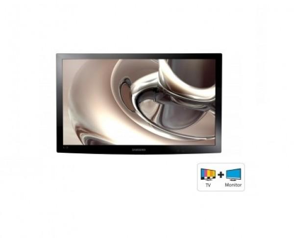 "TV MONITOR 24"" SAMSUNG T24C300 LED FULL HD USB HDMI DVB - T  / C REFURBISHED SENZA BASE STAFFA IN OMAGGIO"