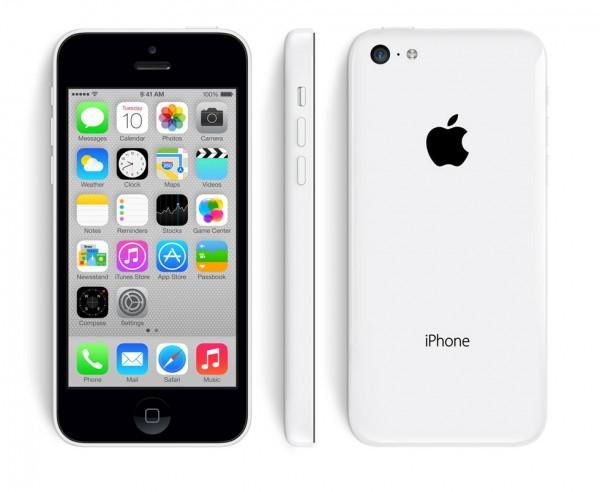 SMARTPHONE APPLE iPhone 5C 16GB LTE iOS 7 WiFi FOTOCAMERA 8 MPX REFURBISHED WHITE