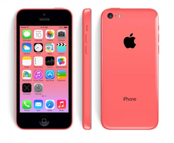 SMARTPHONE APPLE iPhone 5C 16GB LTE iOS 7 Wi-Fi FOTOCAMERA 8 MPX REFURBISHED PINK