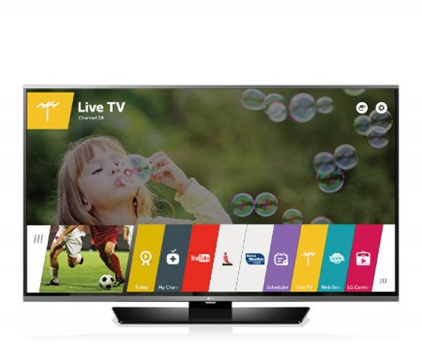 "TV LG 49"" 49LF630V LED FULL HD SMART WEBOS 2.0 WI-FI 800 PMI USB HDMI SCART REFURBISHED CLASSE A+"