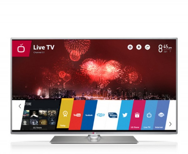 "TV LG 42"" 42LB650V LED FULL HD SMART WIFI 3D WEBOS 500 MCI USB HDMI SCART REFURBISHED CLASSE A+"