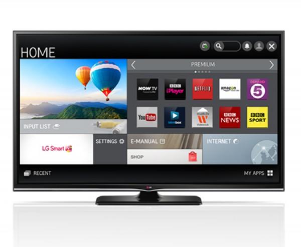 "TV LG 60"" 60PB660V PLASMA FULL HD SMART WIFI 600 HZ HDMI USB REFURBISHED SCART"