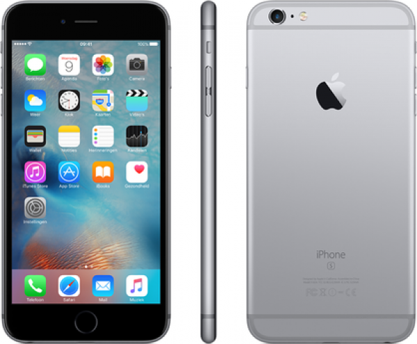 SMARTPHONE APPLE IPHONE 6S 64 Gb 4G LTE CHIP A9 TOUCH ID IOS 9 12 Mpx FOCUS PIXEL REFURBISHED GRIGIO SIDERALE