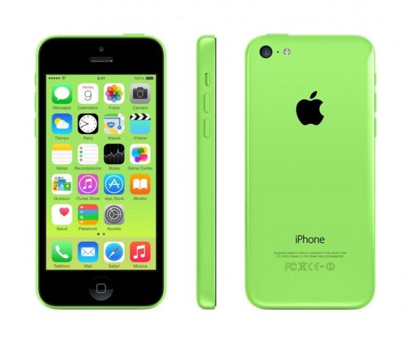 SMARTPHONE APPLE iPhone 5C 16GB LTE iOS 7 Wi-Fi FOTOCAMERA 8 MPX REFURBISHED GRADO A++ VERDE