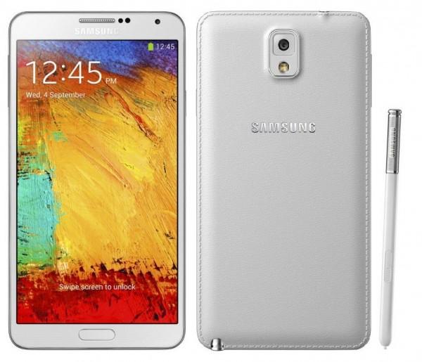 "SMARTPHONE SAMSUNG GALAXY NOTE 3 SM N9005 5.7"" SUPER AMOLED 32 GB QUAD CORE 4G LTE WIFI BLUETOOTH 13 MP REFURBISHED BIANCO"