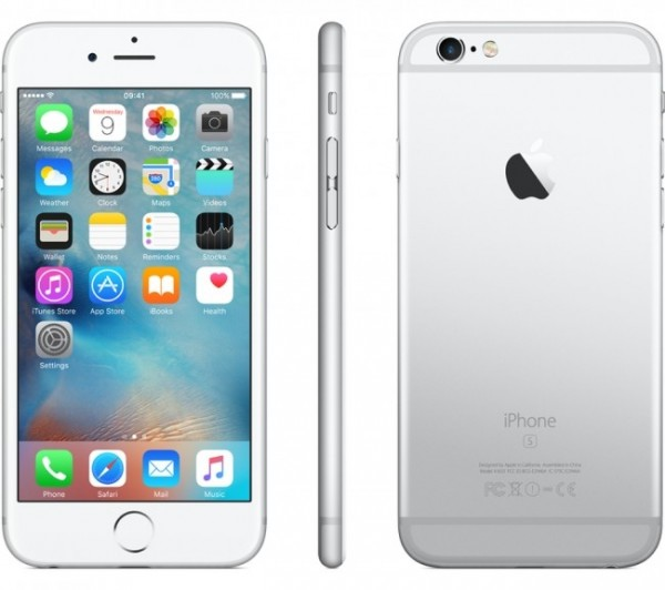 SMARTPHONE APPLE IPHONE 6S 64 GB 4G LTE CHIP A9 TOUCH ID IOS 9 12 MP FOCUS PIXEL REFURBISHED SILVER