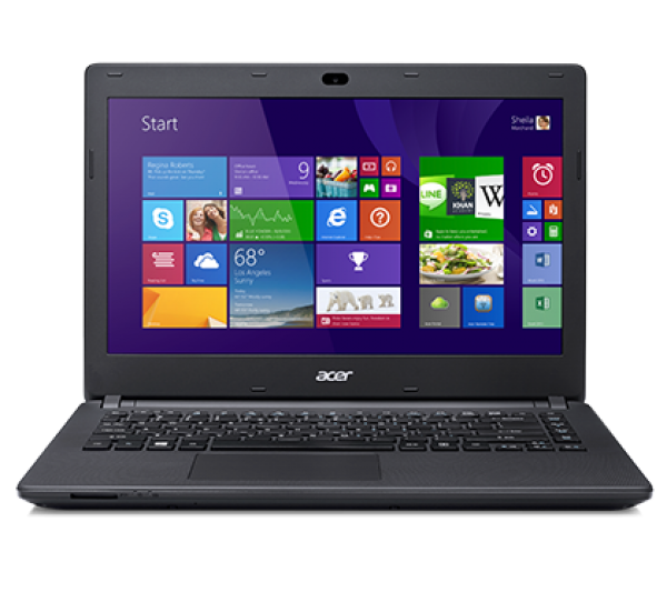 "NOTEBOOK ACER ASPIRE E 14 ES1 411 C3W3 INTEL CELERON N2840 2 GB DDR3 L 500 GB HDD 14"" INTEL HD WINDOWS 8.1 GARANZIA UFFICIALE ACER"