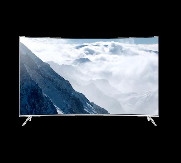"TV 65"" SAMSUNG UE65KS7500 LED SERIE 7 CURVO SUHD 4K SMART WIFI 2200 PQI HDMI USB SILVER"