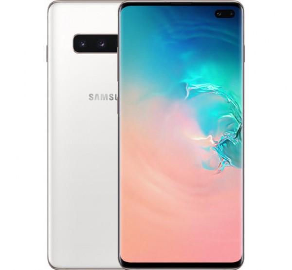 "SMARTPHONE SAMSUNG GALAXY S10 PLUS SM G975F 1 TB DUAL SIM 6.4"" 4G LTE WIFI 12 + 16 + 12 MP OCTA CORE REFURBISHED CERAMIC WHITE"