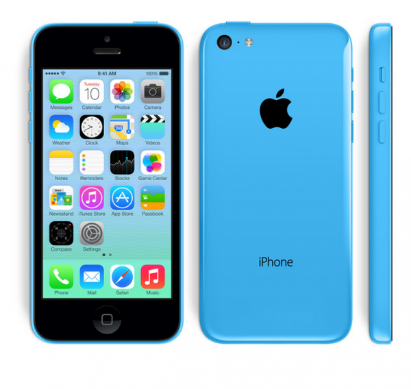 SMARTPHONE APPLE iPhone 5C 16GB LTE iOS 7 Wi-Fi FOTOCAMERA 8 MPX REFURBISHED BLU