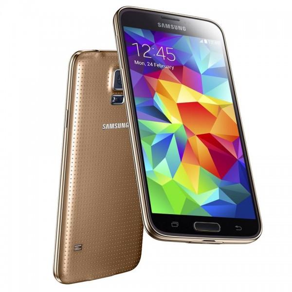 SMARTPHONE SAMSUNG GALAXY S5 SM G900F 16 GB 4G LTE WIFI 16 MPX QUAD CORE SUPER AMOLED REFURBISHED GOLD