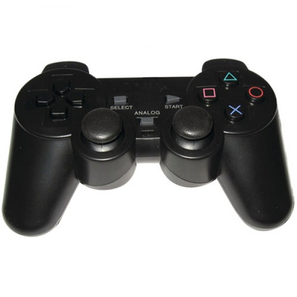 CONTROLLER ANALOGICO 2 CONSOLLE PLAYSTATION 2 NERO