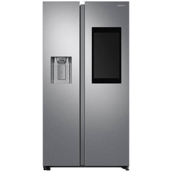 FRIGORIFERO SAMSUNG SIDE BY SIDE FAMILY HUB RS68N8941SL INOX 593 L NO FROST PREMIUM DISPENSER ACQUA E GHIACCIO DISPLAY ESTERNO WIFI REFURBISHED CLASSE A++